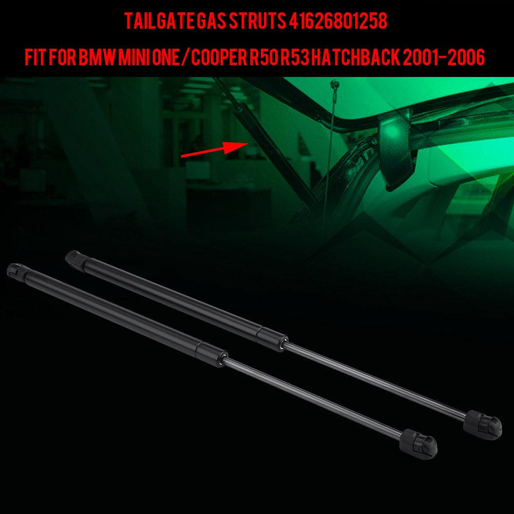 Keenso 2Pcs Tailgate Trunk Liftgate Lift Supports Gas Springs Shocks For BMW Mini One//Cooper R50 R53 Hatchback 2001-2006 41626801258