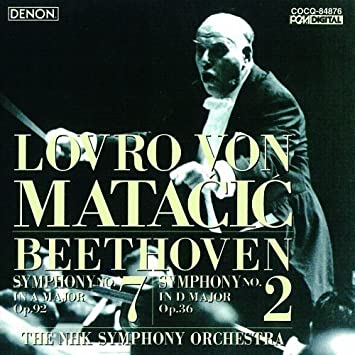 ベートーヴェン:交響曲第7番・第2番