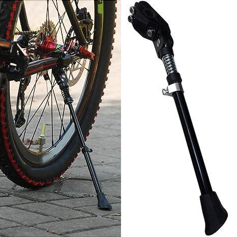 FSSJCKX Vélo en Alliage daluminium Béquille Réglable, Béquille de ...