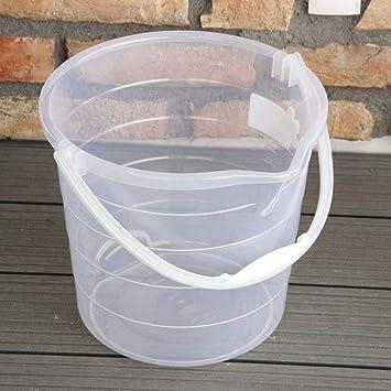 Sehr AGROHIT Eimer ohne Deckel und mit Tragebügel 15 Liter transparent OS86