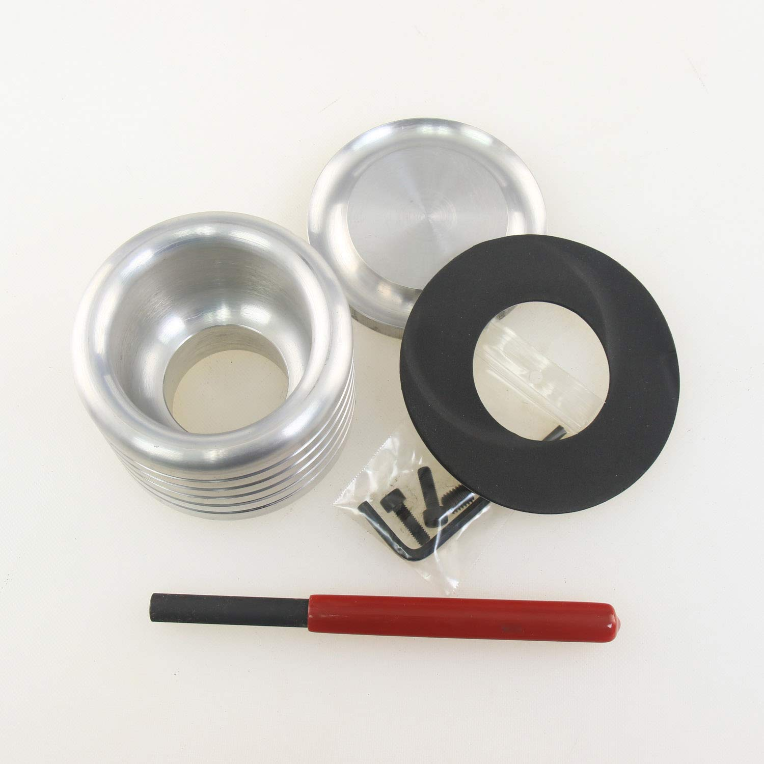 """Oneway 3-1//2/"""" Drum for Vacuum Chuck with M33 x 3.5mm Insert and Bonus Hurricane Safety Kit"""