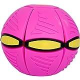 New Adult Decompression Flying Saucer Ball Magic Light Mini Foot Deformation Deformation Vent Ball Frisbee Parent-Child Inter