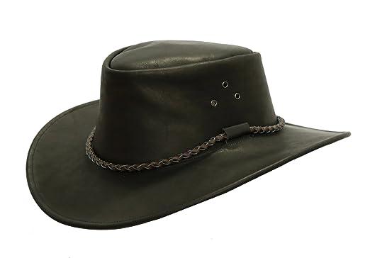 Kakadu Traders Australia - Sombrero cowboy - para hombre negro X-Large   Amazon.es  Ropa y accesorios ee3b7594766