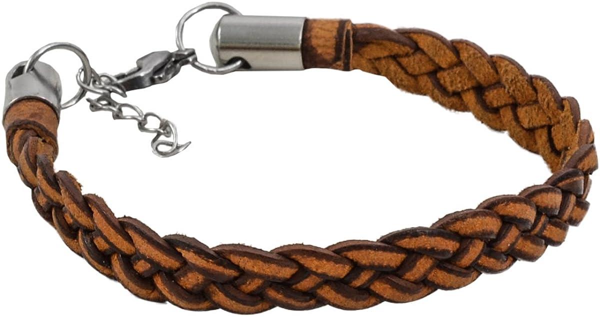 Gusti Bracelet Cuir Bracelet en Cuir v/éritable Bijoux /él/égant Joaillerie