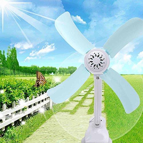 Kaxima Energy-saving students mini-fan four-leaf clip fan Super mute wind volume clamp fumes bedside fan by Kaxima