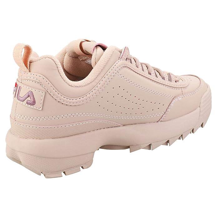 Fila Mujer Woodrose Rosa Disruptor Low Zapatillas-UK 8: Amazon.es: Zapatos y complementos