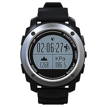 Smartwatch Andriod Con Cámara Bluetooth 4.0 Multi-Idiomas Reloj Inteligente Regalo Con Pantalla Táctil Cronómetro Pódometro Alarma De Antirobo/Dormir ...