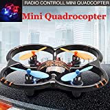 Jiayuane U207 Mini Remote Control Drone,Dazzling LED Light 3D Rolling Novelty Holiday Gift Flying Toys for Kids