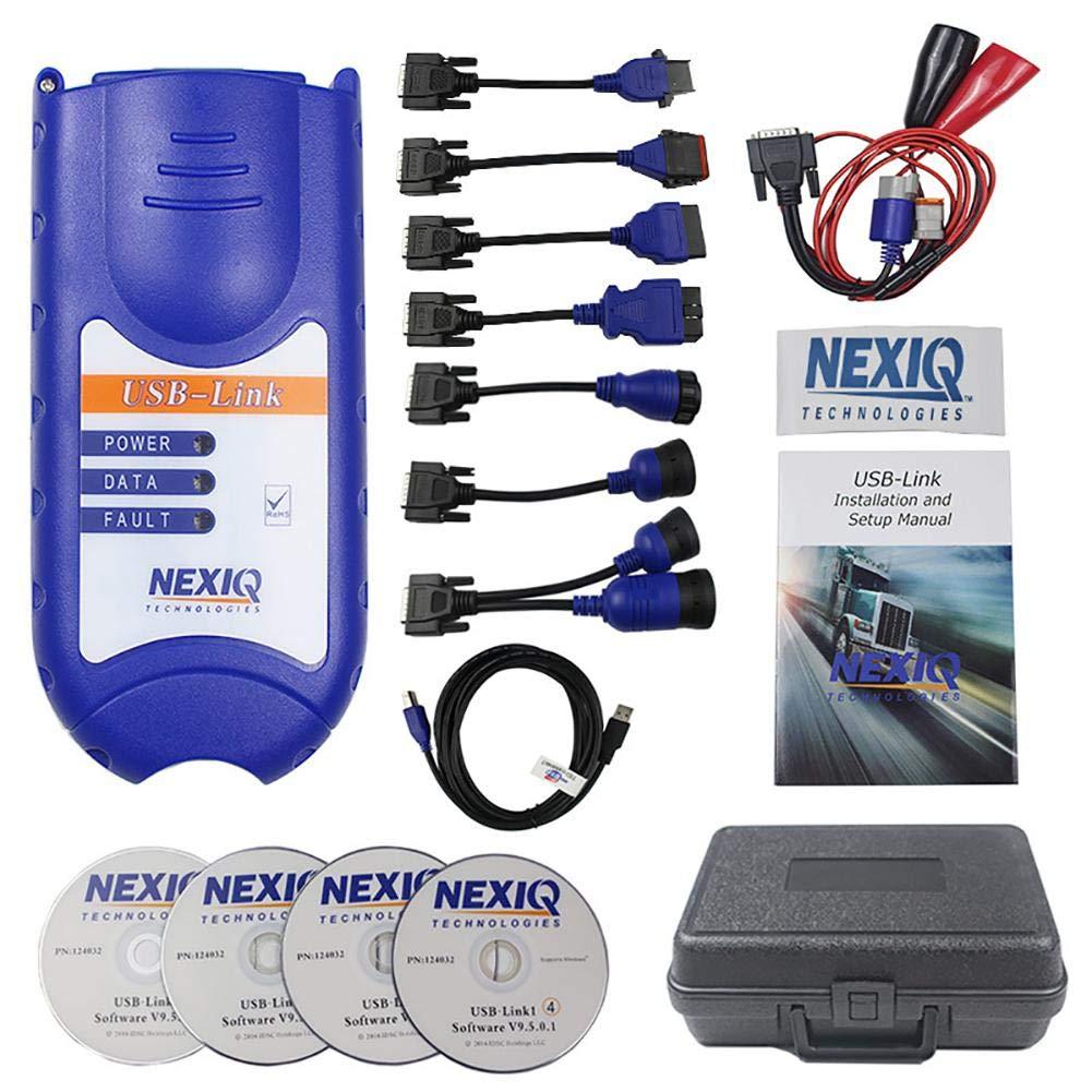 Truck OBD Diagnostics Detector for NEXIQ USB Link OBD WiFi Scanner Fault Code for Vehicle Mini Tools