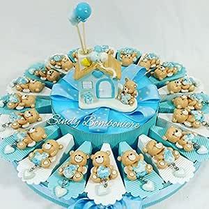 Decoración tarta para bautizo, nacimiento,primer cumpleaños ...