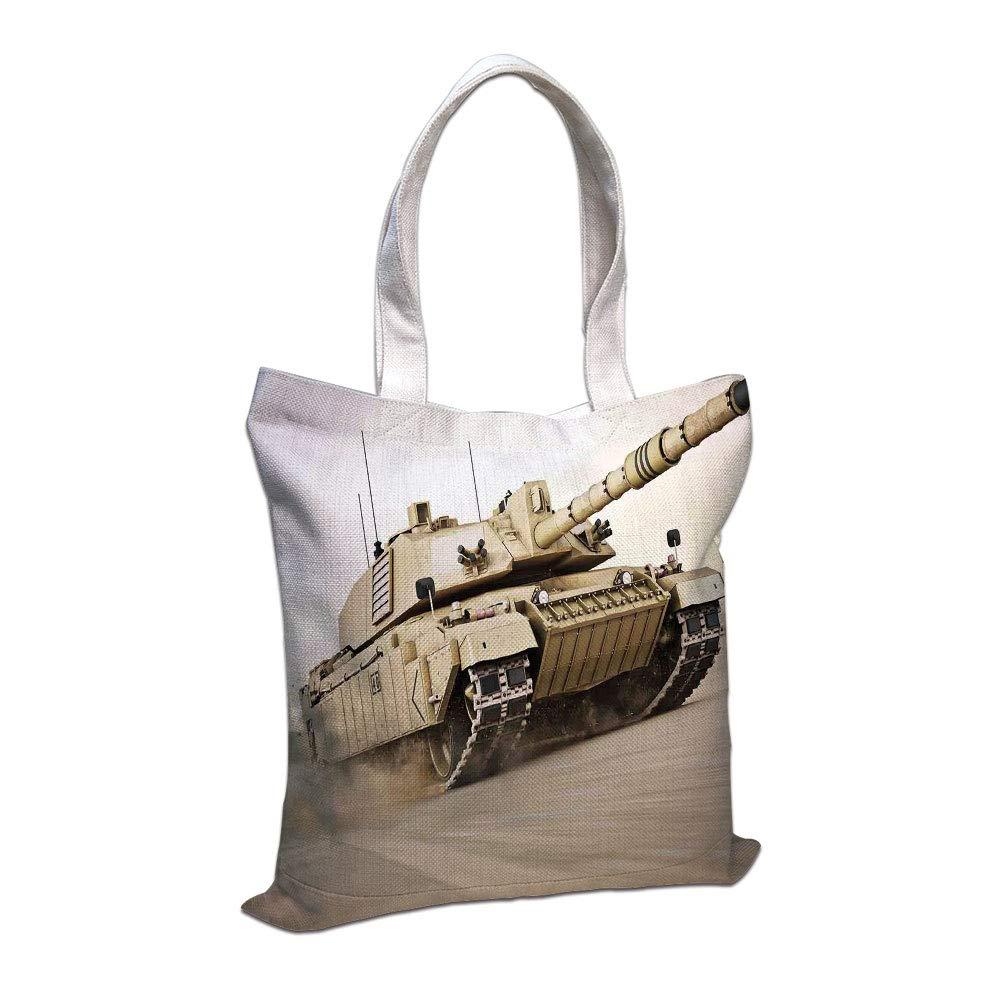 Amazon com: iPrint Cotton Linen Tote Bag, War Home Decor
