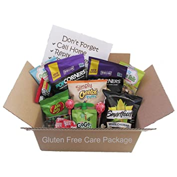 Amazon gifts fulfilled gluten free care package for college gifts fulfilled gluten free care package for college students a great gluten free option in college negle Images