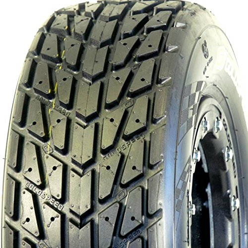 165/70-10 Goldspeed ATV Flat Track TT Cross Kart Tire, Red Compound, Sport Race Tire