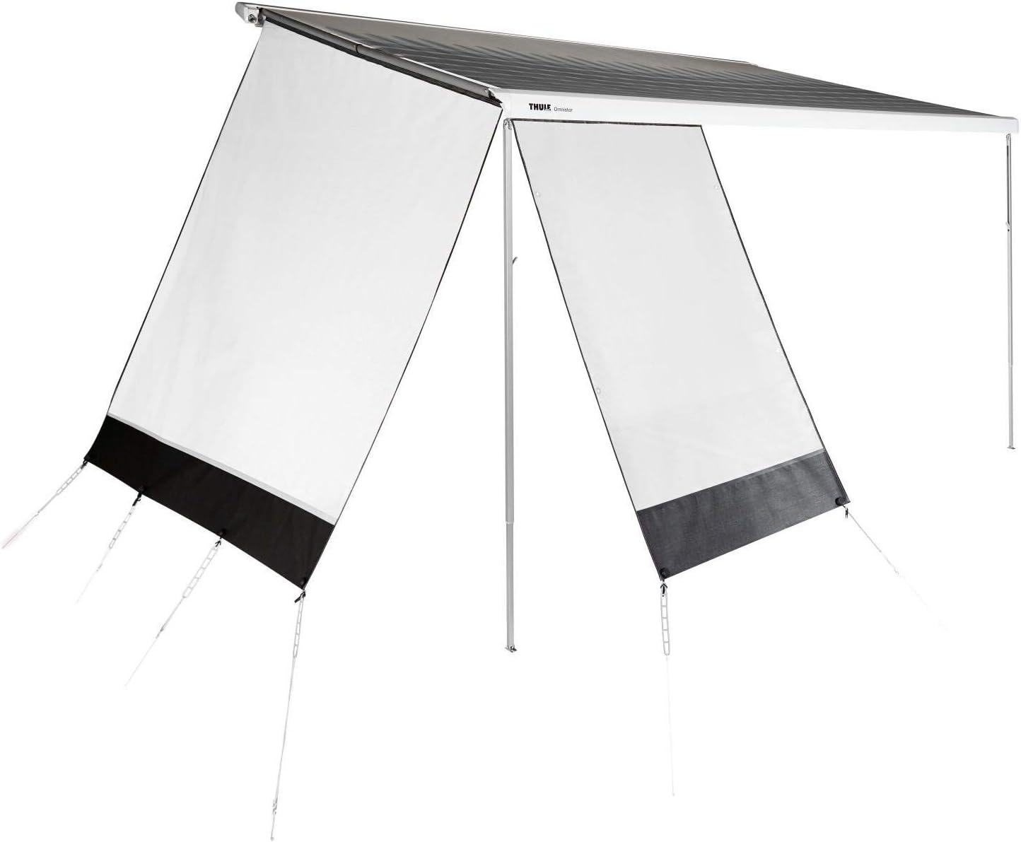 Thule Sun Blocker G2 Vorderwand Camping Markise Front Sichtschutz Windschutz Wohnwagen Sonnenschutz