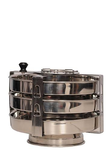 KCL Dhokla  amp; Standard Idli Maker   3 Plates Steamers   Idli Makers