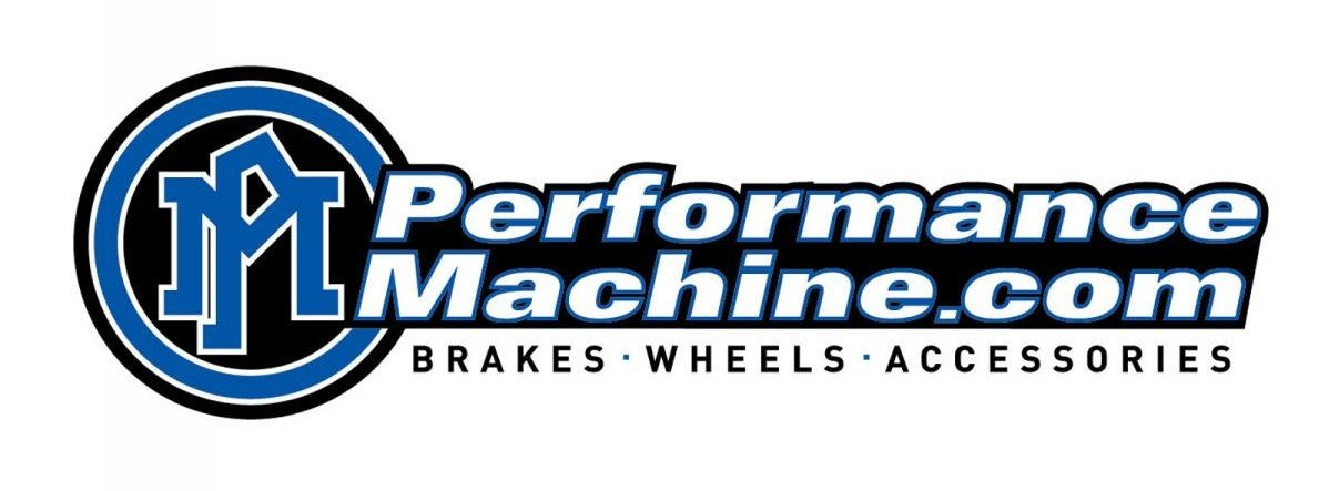 Performance Machine Black Ano Contour Heel-Toe Shifter Lever