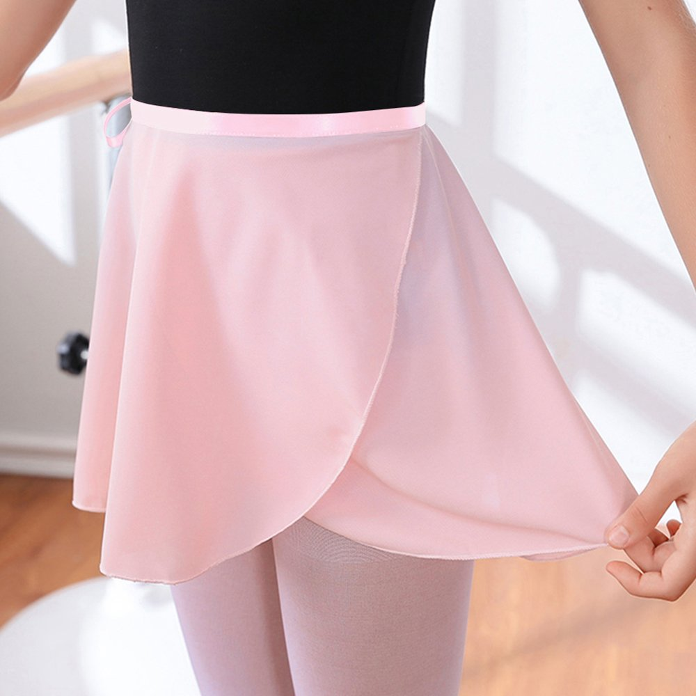 b49205aa86f SportingBodybuilding Ballet Skirt Chiffon Wrap Dance Skirt for Women   Girls  larger image