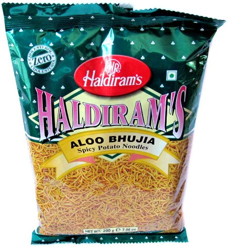 - Haldiram's Aloo Bhujia (Spicy Potato Noodles) - 200g