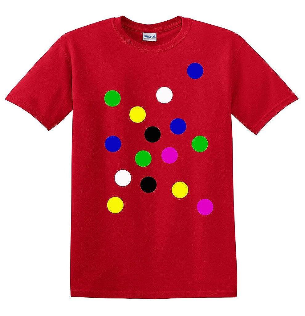 Children's Coloured Spotty Dotty T Shirt