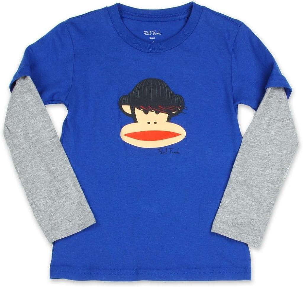 Julius FuNkY Paul Frank Spaceship Or Comic Strip Kids Tshirt SZ 5 6