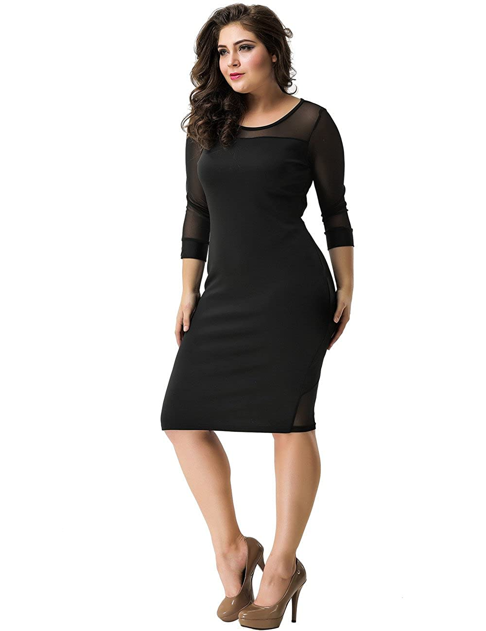 7bf5c9f9b Club Dresses For Plus Size Women