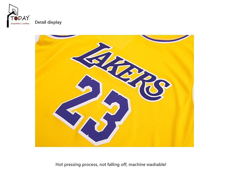 Maglia Kobe Bryant n 24 //Maglia Anthony Davis n Pantaloncini 23 // Maglia della Squadra di Los Angeles Lakers//Tuta da Pallacanestro Che Indossa la Maglia