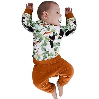 2b3c40a19 Amazon.com  Toddler Baby Boys Cute Cartoon Animal Long Sleeve Print ...