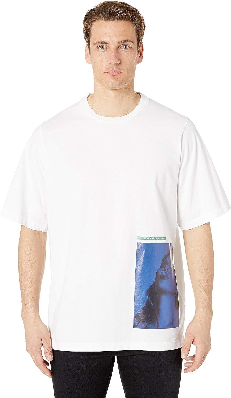 c812ce2c0 Amazon.com: DSQUARED2 Men's Mert & Marcus Slouch Fit T-Shirt: Clothing