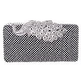 Fawziya Crystal Peacock Clutch Purses For Women Evening Handbags