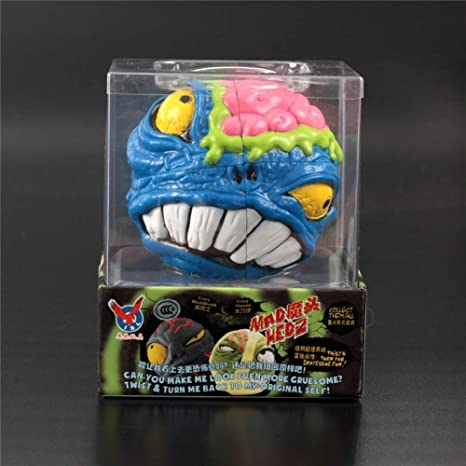 ESPLAY Speed Cube 3D 2X2 Magic 2-Order Cube Cartoon Monster ...