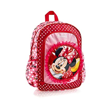 36c6968a088 Heys Disney Minnie Mouse Girls 15 Inch Deluxe Backpack School Bag -  Red    Amazon.co.uk  Toys   Games