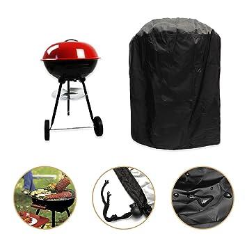 KING DO WAY Funda para BBQ Barbacoa BBQ Grill Cover Protectora Cubierta Protección Huelle Campana Redondo