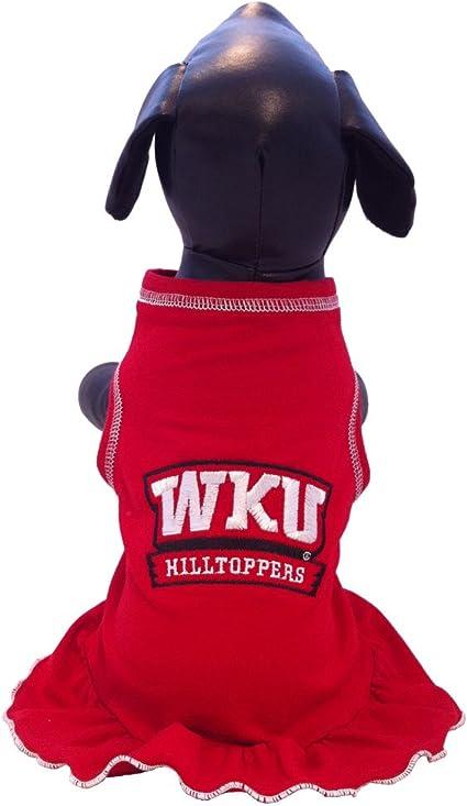 NCAA Western Kentucky Hilltoppers Cheerleader Dog Dress Large