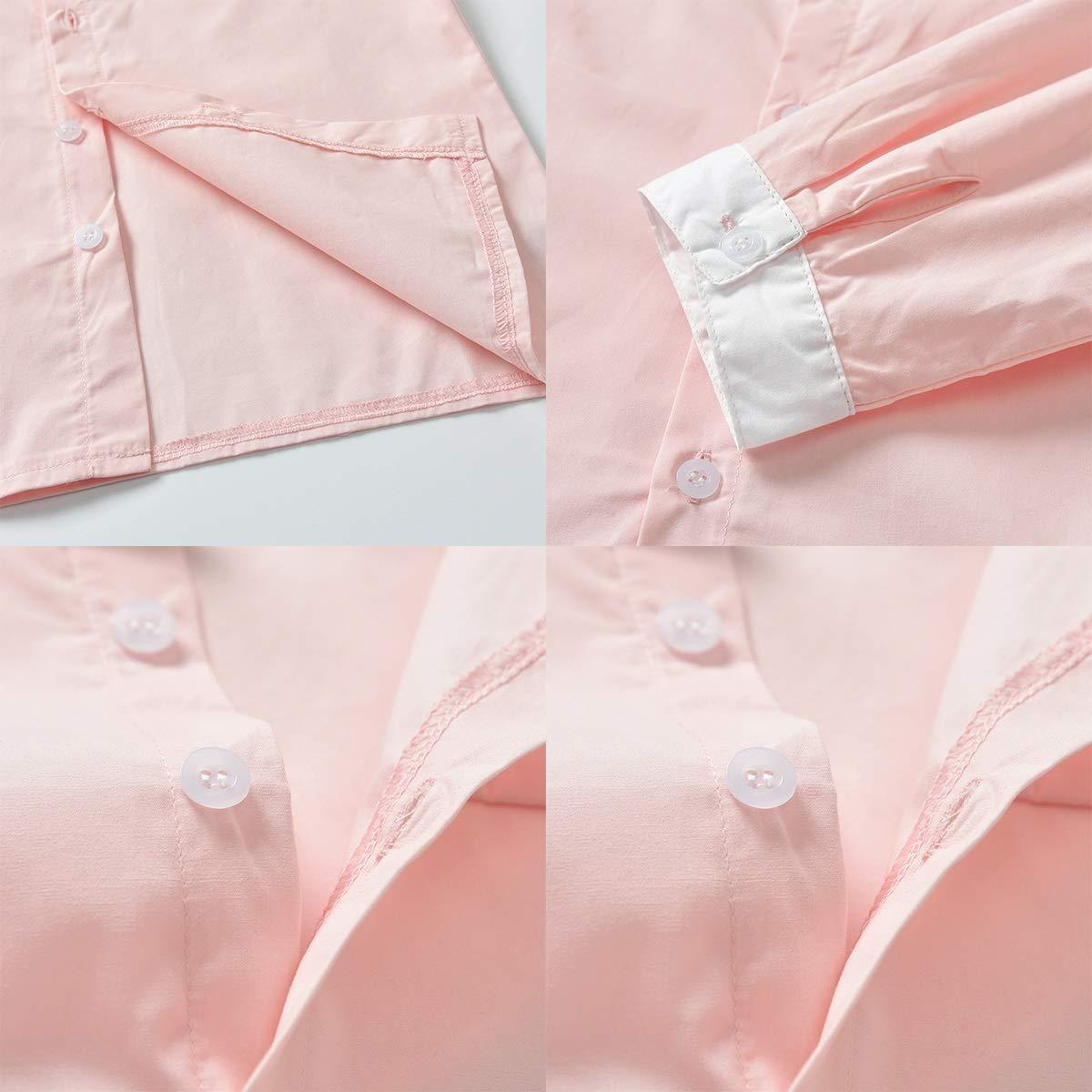 Trajes de Traje de Mono de Color de Primavera y Contraste en Color de Contraste Camisa de Manga Larga con Pajarita pantal/ón de Liga para beb/és y ni/ños peque/ños