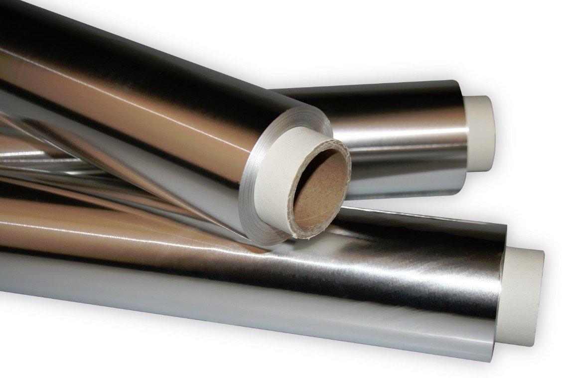 Aluminium Foil Industriefolie 29.5 CM x 50 MM thick 36my Industriefolien / Aluminiumfolie