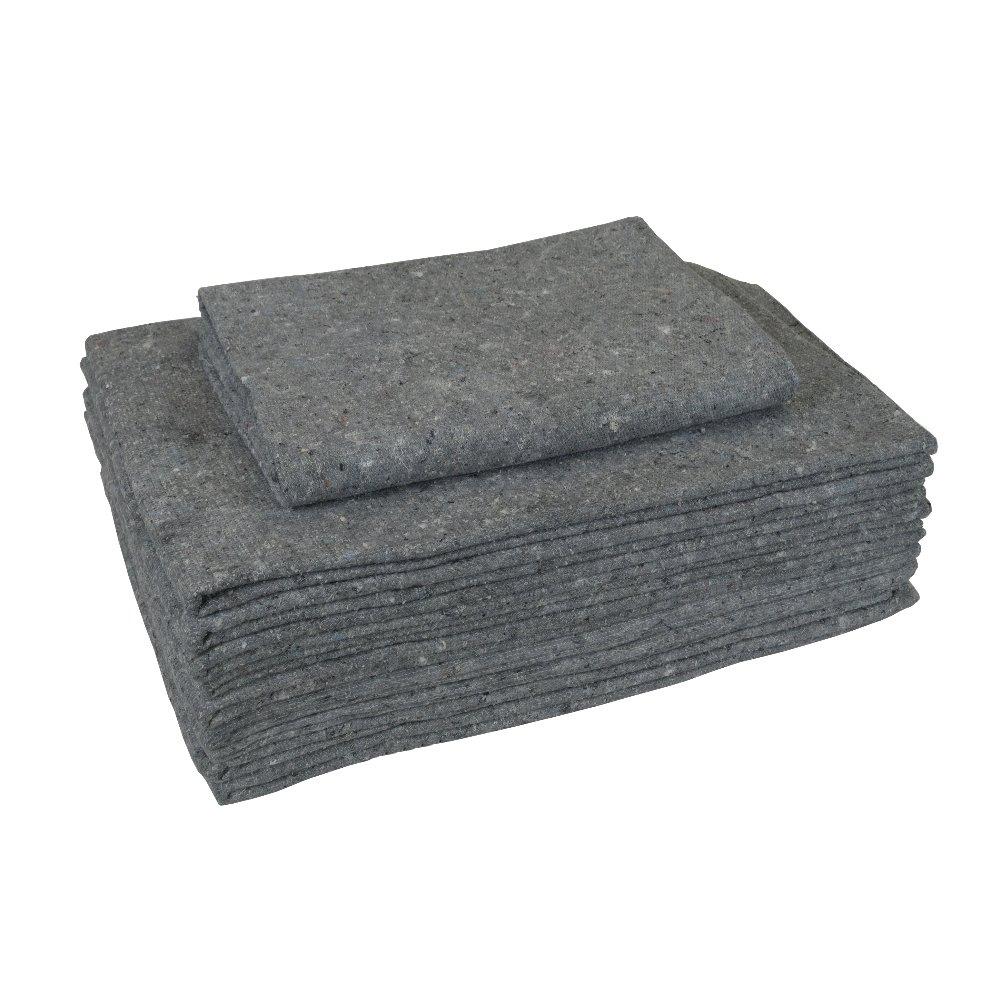 10 Möbeldecken Umzugsdecken 150 x 200 cm Packdecken Lagerdecken für Umzug