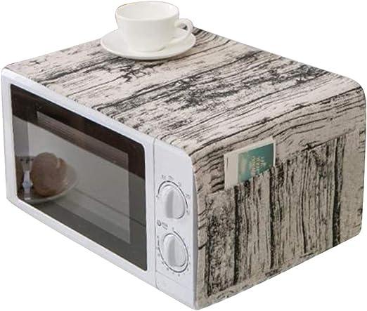 LWANFEI - Cubierta antiincrustante para Horno de microondas, Multiusos, a Prueba de Aceite, para microondas, Lavadora, decoración del hogar: Amazon.es: Hogar