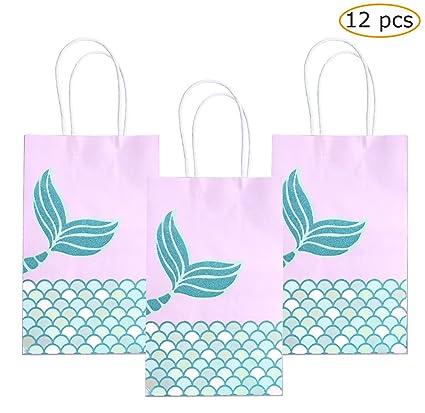 Amazon.com: MSDADA Fantasy - Bolsas de regalo de sirena ...