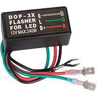 GUUZI LED Richtingaanwijzer Relais Elektronische LED Flasher Relais FIX Motorfiets Richtingaanwijzer Lampen Hyper Flash…