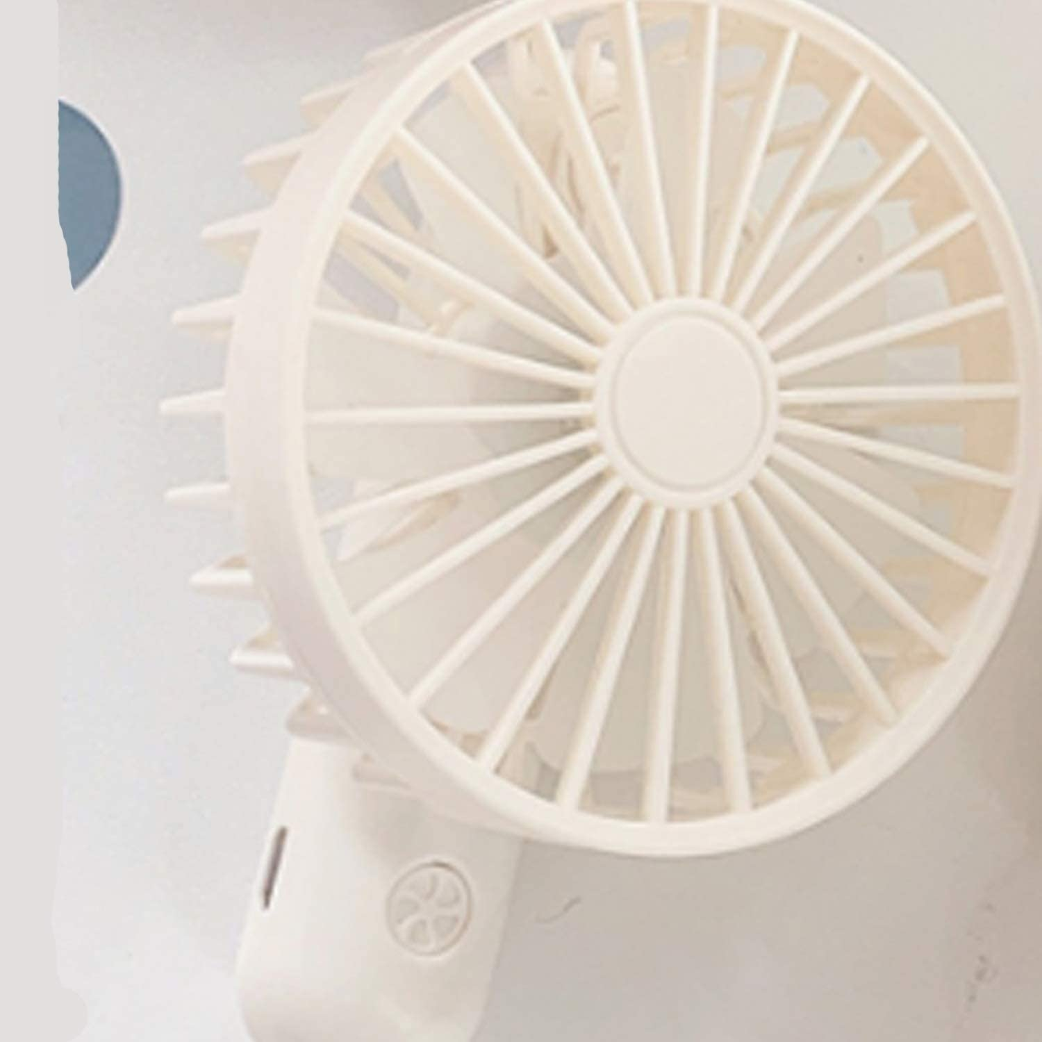 Color : Pink XIAOF-FEN Summer Mini Fan USB Rechargeable Dormitory Portable Mute Handheld Small Fan Girl Women USB Fan