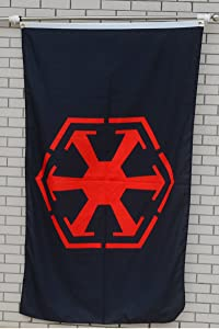 Fyon Large Flag Sith Empire Flag 3X5Ft