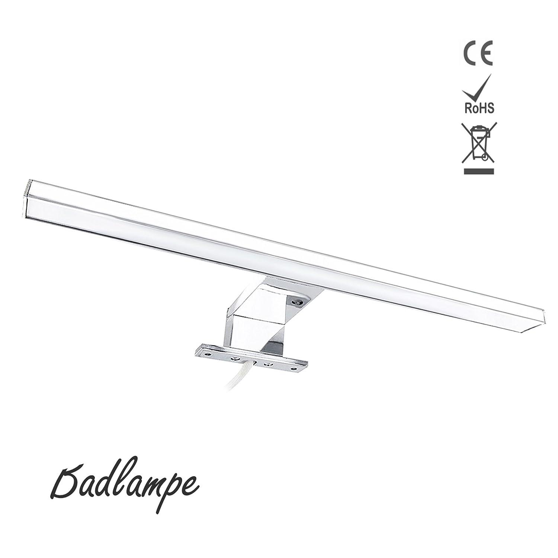1819 LED Spiegelleuchte Schranklampe Badlampe Badleuchte Wandleuchte Wandlampe Spiegellampe Beleuchtung AC 220-240V Tageslicht Weiß Licht 5W 30CM/8W 50CM[Energieklasse A+] (8W 50CM)