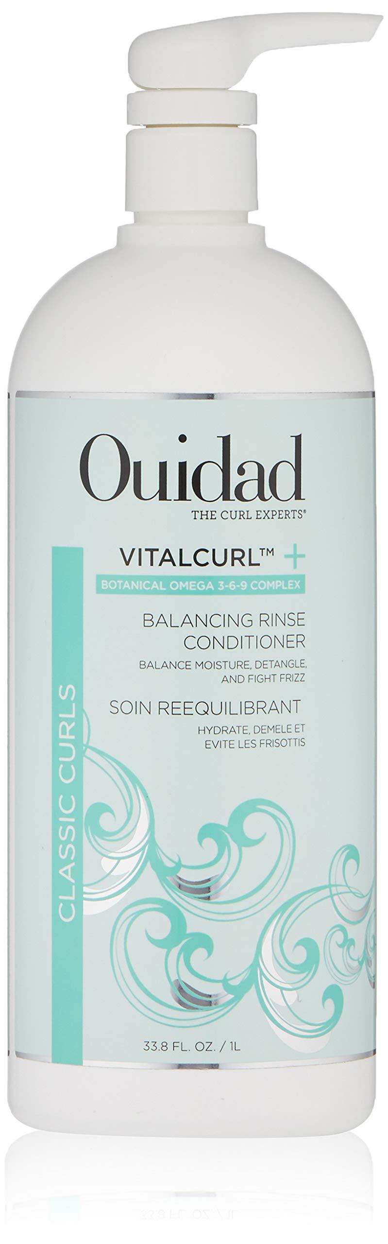 OUIDAD Vitalcurl+ Balancing Rinse Conditioner, 33.8 Oz