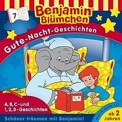 A,B,C- und 1,2,3-Geschichten (Benjamin Blümchen Gute Nacht Geschichten 7)