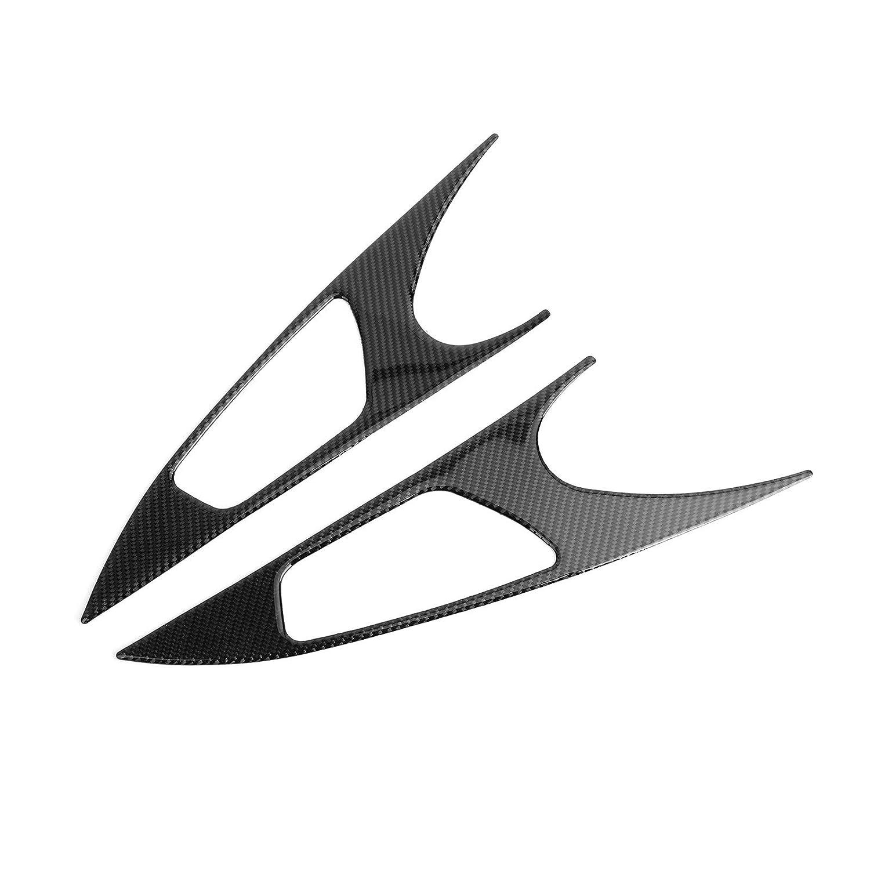 Copertura per maniglia interna della portiera auto Artudatech per H-O-N-D-A Civic 10th 2016-2019 in vero carbonio