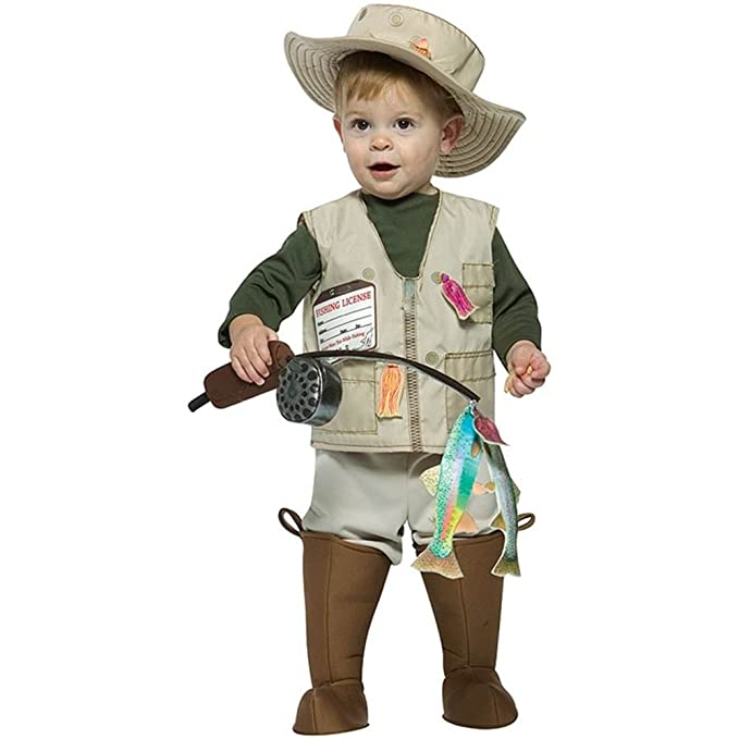 Amazon.com Rasta Imposta Future Fisherman Costume Brown 18-24 Months Clothing  sc 1 st  Amazon.com & Amazon.com: Rasta Imposta Future Fisherman Costume Brown 18-24 ...