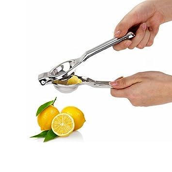 Qiaogle Exprimidores manuales Acero Inoxidable limón Exprimidor Manual exprimidor/Acero Inoxidable limón Exprimidor Manual exprimidor Exprimir Apto para de ...