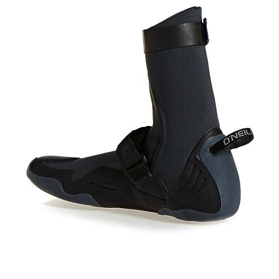 2017 O'Neill Psycho Tech 5mm Round Toe Boots 4977 Boot/Shoe Size UK - UK Size 5 D9UHGZmv