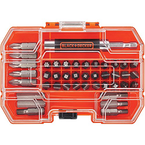 BLACK+DECKER BDA42SD 42-Piece Standard Screwdriver Bit Set ()