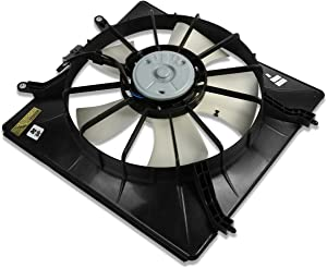 HO3115113 OE Style Radiator Cooling Fan Assembly Replacement for Honda Odyssey 99-04
